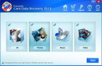 Card Data Recovery 2012 screenshot