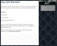 Super Quiz BGA Guide screenshot