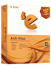 eScan AntiVirus Edition with Rescue Disk screenshot