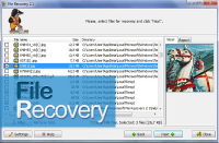 easy flash data recovery screenshot