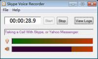 Skype Voice Recorder screenshot