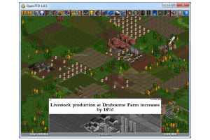 OpenTTD Portable screenshot