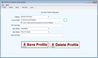 File Share Collector Administrator screenshot