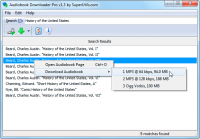 Portable Audiobook Downloader Pro screenshot