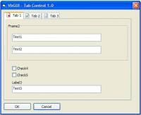 VB Tab-Control ActiveX screenshot