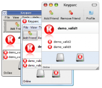 Keyparc for Linux screenshot