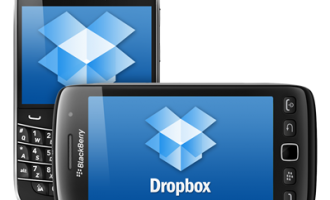 Dropbox for Blacberry screenshot