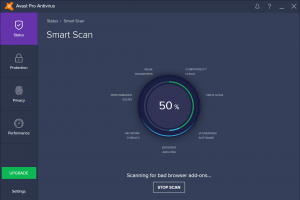 avast!  Pro Antivirus screenshot