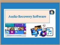 Audio Recovery Software screenshot