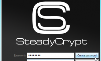 SteadyCrypt screenshot
