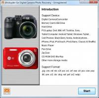 BYclouder Ge Digital Camera Photo Recovery screenshot