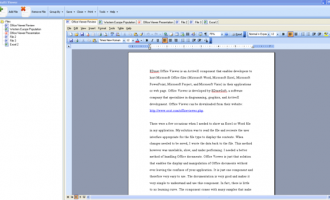Edraw Viewer Component for MS Word screenshot