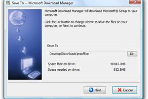 Microsoft Download Manager screenshot