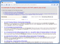 7s Search Engine screenshot