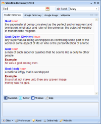 WordInn Dictionary 2010 screenshot