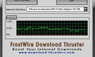 FrostWire Download Thruster screenshot