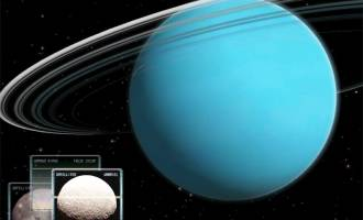 Uranus 3D Space Survey Screensaver for Mac OS X screenshot