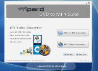 Tipard DVD to MP4 Suite screenshot