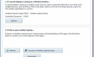 Acer Wireless Laptop Router screenshot