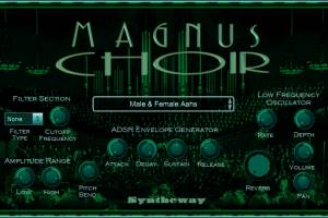 Magnus Choir VST screenshot