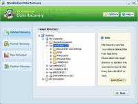 Wondershare Data Recovery screenshot