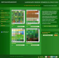 Artisans Gardens Landscape Design Swatches Color screenshot