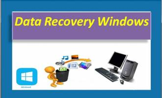 Data Recovery Windows screenshot
