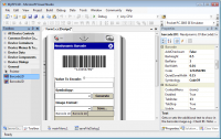 Barcode Prof. for .NET Compact Framework screenshot