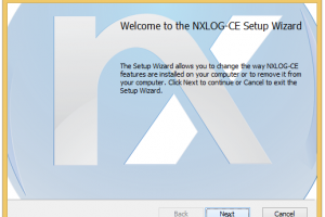 NXLog Community Edition screenshot