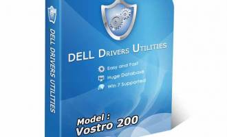 DELL VOSTRO 200 Drivers Utility screenshot