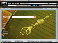 CMT Country Music IE Browser Theme screenshot
