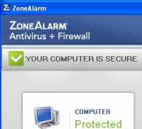 ZoneAlarm Antivirus & Firewall 2012 screenshot