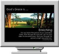 God's Grace Screen Saver screenshot