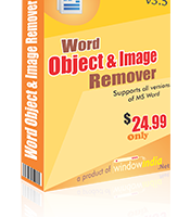 Word Object and Image Remover screenshot