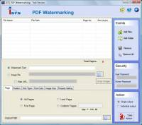 PDF Document Watermarking screenshot