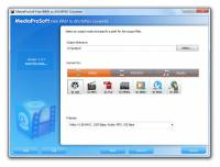 MediaProSoft Free WMV to AVI/MPEG Converter screenshot