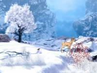 Winter in Mountain Screensaver screenshot