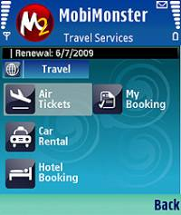 MobiMonster Travel Services screenshot