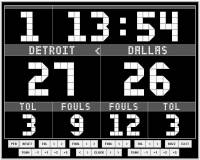 Golasso Basketball Scoreboard screenshot