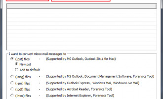Move Thunderbird to Windows Live Mail screenshot