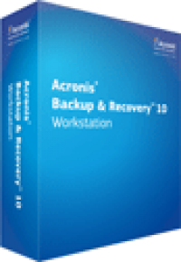 Acronis Backup and Recovery 10 Workstation screenshot