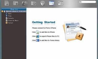iMacsoft iPhone Contact to PC Transfer screenshot