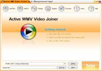 Active WMV Video Joiner screenshot