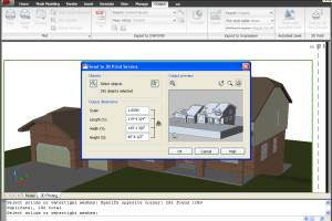 AutoCAD 2010 screenshot