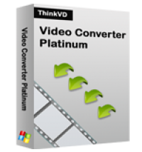 ThinkVD Video Converter Platinum screenshot