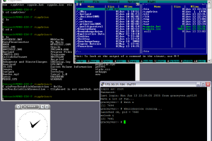 Cygwin screenshot