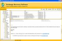 EDB Recovery Tool screenshot