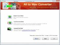 Boxoft All to Wav Converter screenshot