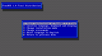 FreeDOS screenshot