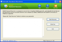 Paltalk Password Recovery screenshot